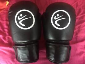 Black KickBoxing Gloves!