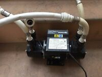Stuart Turner Showermate 1.4 Bar Twin 46202 Shower Water Pump