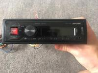Alpine UTE-72BT mech-less Car Stereo With Built in Bluetooth iPod/USB Control