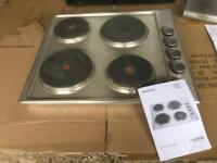 Brand new Hob and Extractor Hood with paperwork