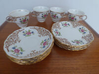 Colclough China Tea Set Pattern 6629