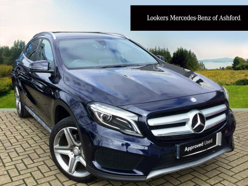 mercedes benz gla class gla 220 d 4matic amg line premium blue 2017 03 24 in ashford kent. Black Bedroom Furniture Sets. Home Design Ideas