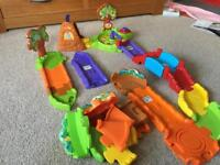 Vtech Toot Toot Animal Track & Bear Cave