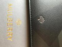 Mulberry leather mini iPad case