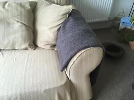 4 seater sofas x 2