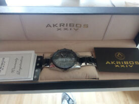 Akribos XXIV AK736 Mens Watch