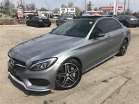 2016 Mercedes-Benz C-Class AMG 450 / NAV / ROOF / SUEDE-LEATHER Cambridge Kitchener Area Preview