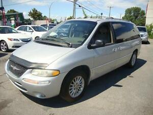 2000 Chrysler Town & Country 7PASS CUIR LIMITED Silver