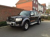 Ford Ranger 3.0 TDCI Wildtrack (2009/09 Reg) Double Cab + WILDTRAK EDITION + LEATHER + HIGH SPEC +