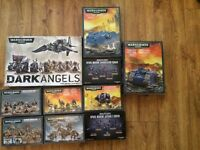 Large Warhammer 40k Dark angel army + extras