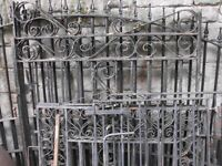 RECLAMED METAL DRIVEWAY GATES AND SECURITY GATES