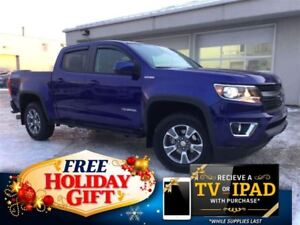 2016 Chevrolet Colorado Z71 Crew 4x4 (Remote Start, Nav, Heated