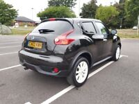 2013 Nissan Juke Ministry of sound, fully loaded model, low mileage, new 12 months mot