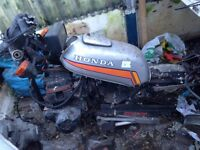 Honda CB125 frame and engine (project, spares, repairs)