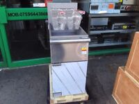 NEW GAS FRYER CATERING FAST FOOD COMMERCIAL CAFE KEBAB CHICKEN BBQ SHOP KITCHEN