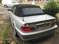 BMW 325CI Convertible 2002