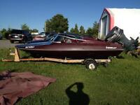 Sunray SS150 Runabout Boat with Trailer and Cover