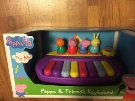 Brand new Peppa Pig & Friend's keyboard