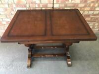 CC41 Draw Leaf Dinning Table 1940s Solid Wood
