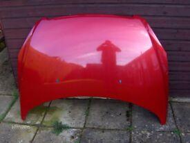 peugeot 307 bonnet diablo red 2001-2007