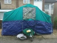 Suncamp 4 berth trailor tent