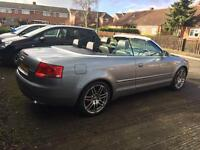 Audi A4 2.0 tdi special/final edition s line convertible