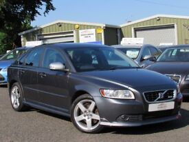 2010 VOLVO S40 R-DESIGN 2.0 DIESEL 2 OWNERS LEATHER 106K MOTD JUNE 2019 EXCELLENT CONDITION