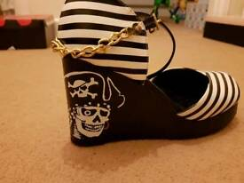 TUK Pirate Wedge Heels