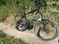Custom Built Mens Mountain Bike With Fox Forks