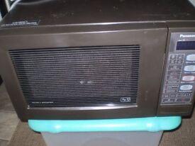 Panasonic combination microwave/browner