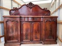 Stunning Victorian Mahogany Chiffonier / Sideboard