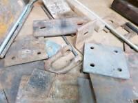Fabricating brackets in solid steel