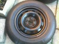 14 inch volkswagen wheel , new tyre