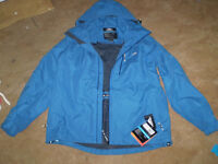 TRESPASS WATERPROOF JACKET BRAND NEW WITH TAGS