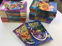 Set of Beast Quest books - 1 to 12 plus 15 others