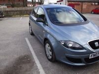 SEAT ALTEA BLUE 1.9 MANUAL 1 PREVIOUS OWNER