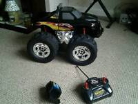 GReddy 4x4 monster remote control truck with charger