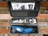 Draper rotary multi tool with accessories
