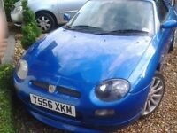 MG MGF TROPHY 160 , VERY RARE