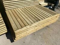 🌲 Pressure Treated Wooden Garden Fence Panels
