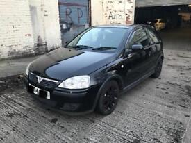 2004 VAUXHALL CORSA C 1.2 SXI BREAKING Z12XEP Z20R ENGINE GEARBOX ALLOYS SPOILER