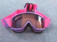 Junior Ski and Snowboard Goggles, excellent condition, suit ages 10 – 16.
