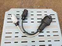 Caravan 13 pin adapter