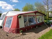 Caravan awning size 16 . 1050cm