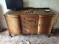 Vintage dining room sideboard