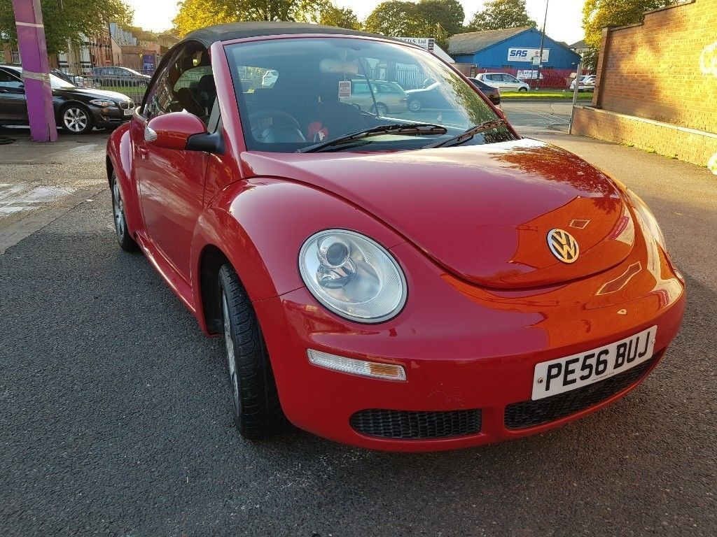 Volkswagen Beetle 1 4 Cabriolet Convertible Red 2006 Mot Priced Worth 3500