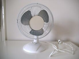 DESKTOP FAN (AS NEW/LITTLE USED) GREAT WORKING CONDITION
