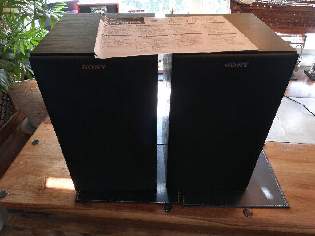 Sony HI FI Speakers APM-101 ES Classic Vintage Spares/Repair   in  Knightswood, Glasgow   Gumtree
