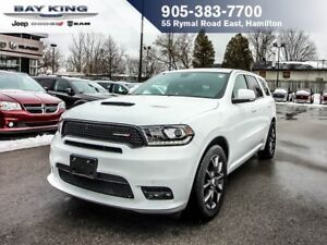 2018 Dodge Durango R/T, AWD, GPS NAV, HEATED SEATS, BACKUP CAMER