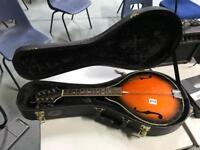 Blue moon 8 string sunburst mandolin guitar in hardcase
